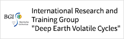 International Research and Training Group Deep Earth Volatile Cycles