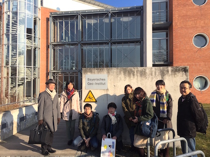 We visited Bayerisches Geoinstitut, University of Bayreuth(BGI) on March 16-24, 2016. photo