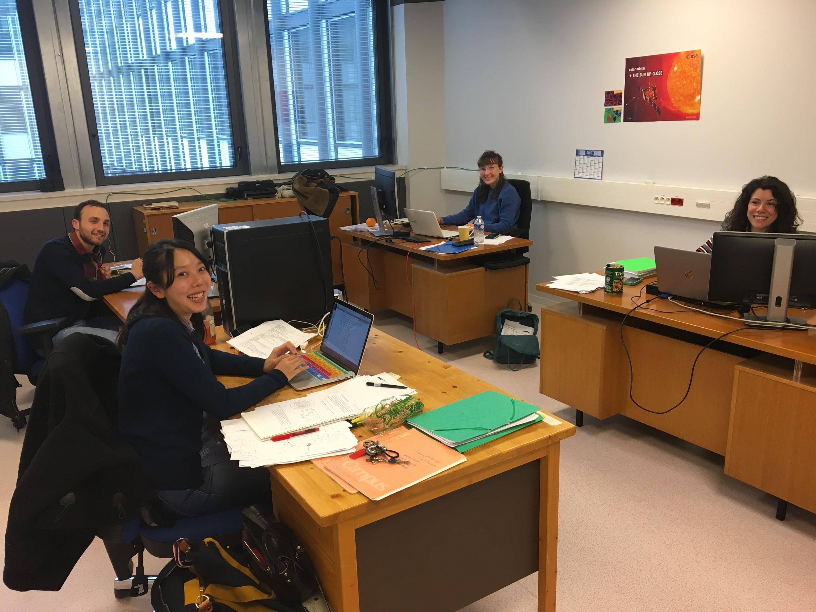 2017年2月より、フランス・パリ第六大学・プラズマ物理学研究所(LPP)の博士課程学生としての生活をスタートしました。 photo